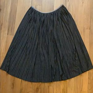 Banana Republic accordion pleat skirt, sz XS